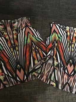 Работа с названием Два топа из 1,2 м ткани, или Топ за 160 рублей