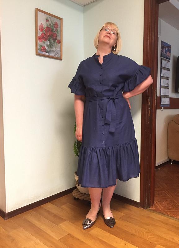Платье «Рюши, рюши» от irina-sh69
