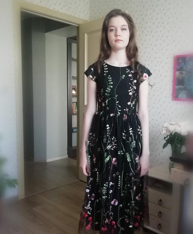 Платье навыпуской в9 классе! от Bronza