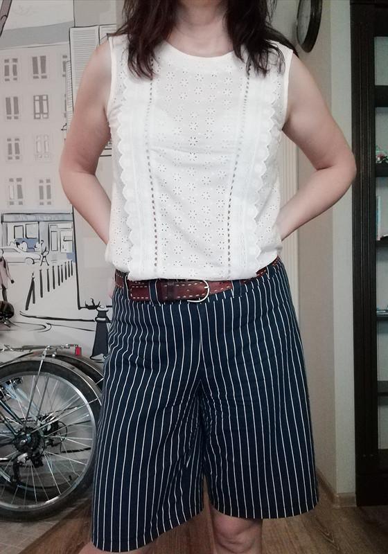 Блузка «Выкройка старая, идея новая!» от Bronza