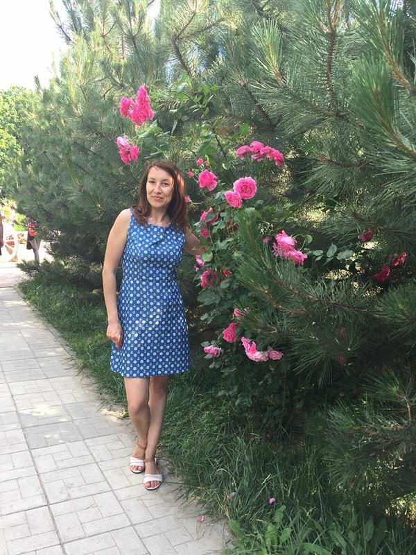 Летнее платье от Nadi_ka