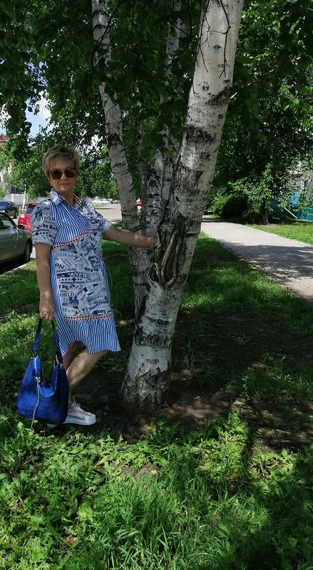 Платье «Листая старые журналы»