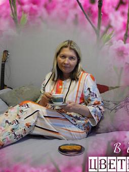 Работа с названием Пижама и вечная весна...