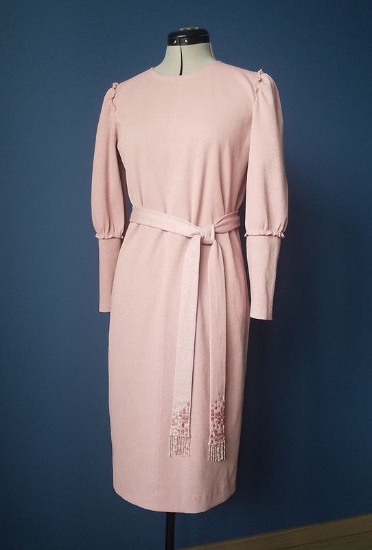Платье изкашкорсе слюрексом от Елена Ленкова