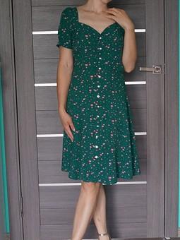 Работа с названием Моё изумрудное платье