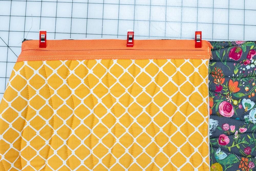Большие сумки-органайзеры намолнии: мастер-класс