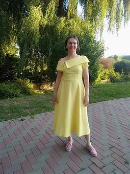 Работа с названием Платье - просто шик!