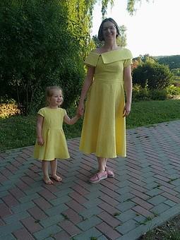 Работа с названием Ещё одно платье - просто шик для дочки