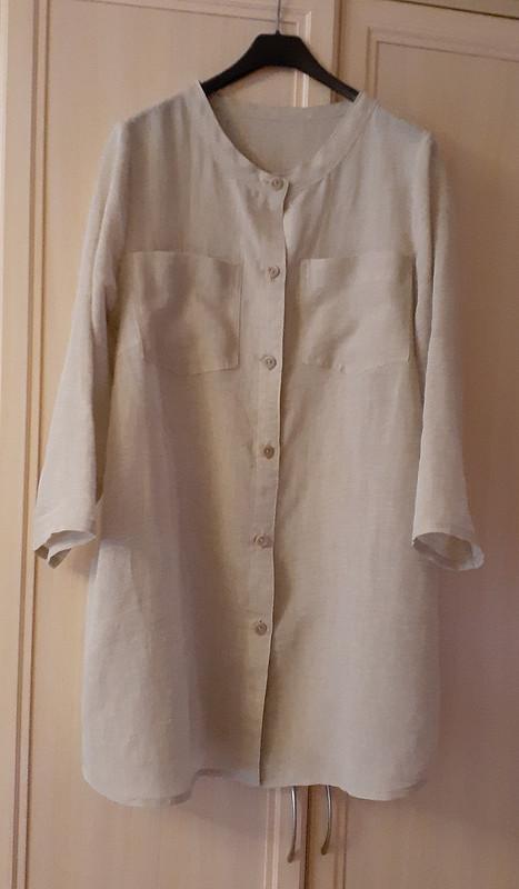 Рубашка изтонкого льна