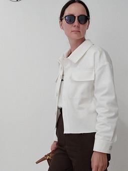 Работа с названием Куртка джинс