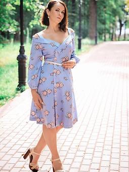 Работа с названием Ещë одно платье из 5/2018