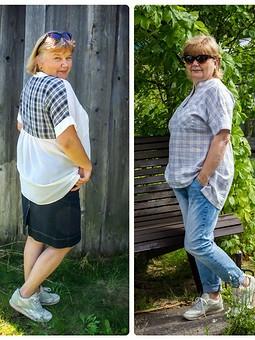 Работа с названием Простые, но нужные вещи: блузка-туника