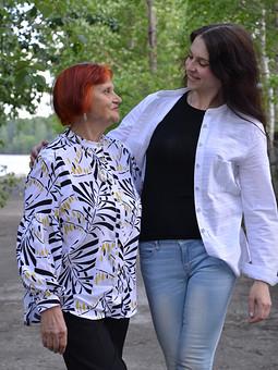 Работа с названием Блузка для Мамы)))