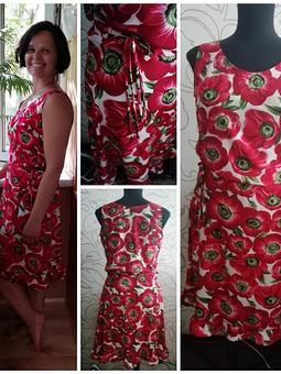 Работа с названием Кроп-топ, майка-блузка и юбки