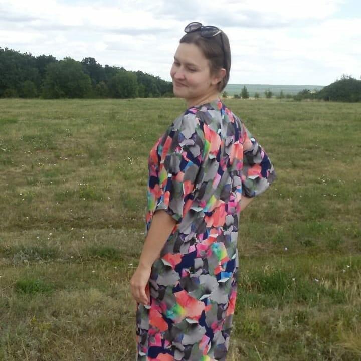 Платье «Искры радости» от Катерина