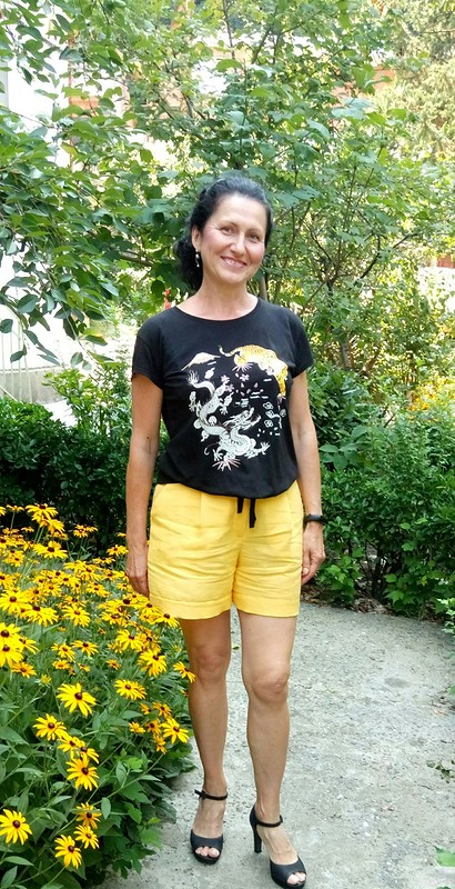 Льняные шорты от lady_olya
