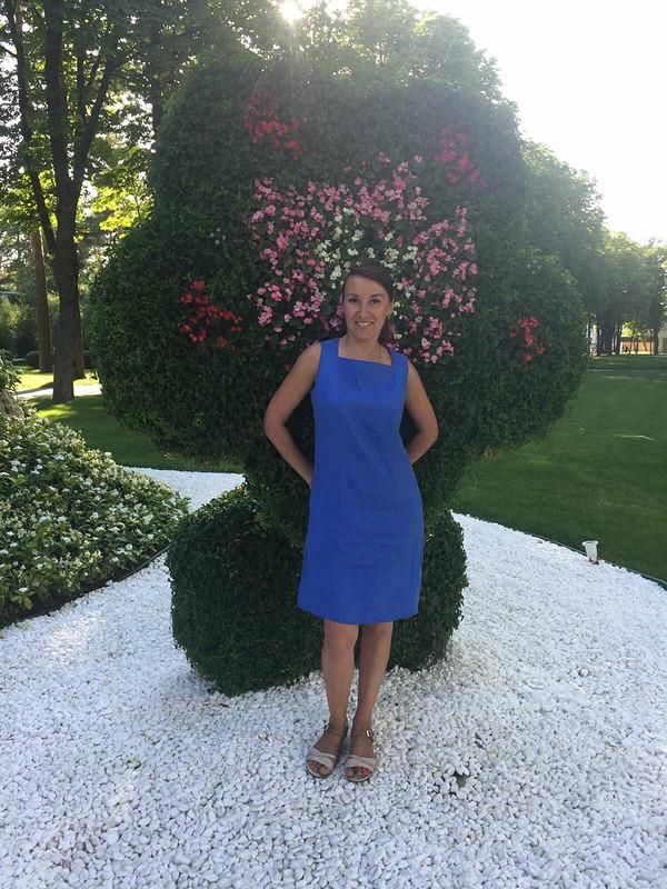 Платье «Каждый сезон - новый синий...» от Nadi_ka
