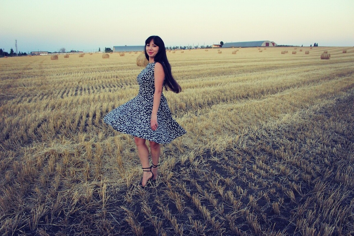 Летнее летящее платье