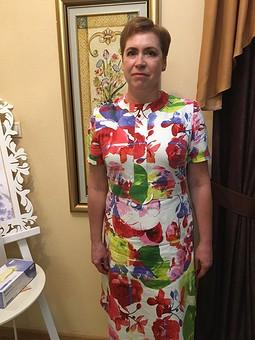 Работа с названием Комфортное платье на свадьбу