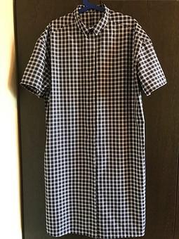 Работа с названием Платье-рубашка