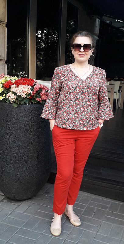 Любимые красные брюки от eshcherba