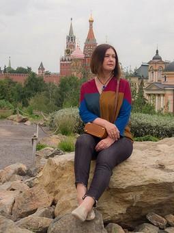 Работа с названием День семьи, любви и верности с Натальей и Владимиром! Рубашка и блузка