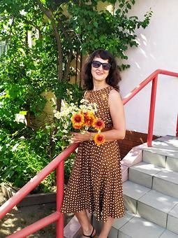 Работа с названием День Семьи с Lud_ok. Платье