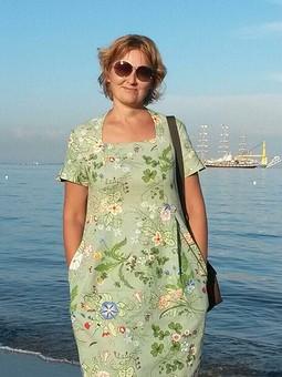 Работа с названием День семьи, любви и верности с vl-olga. Платье