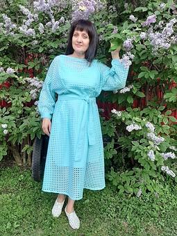 Работа с названием День семьи с Еленой и Марией! Платье и туника