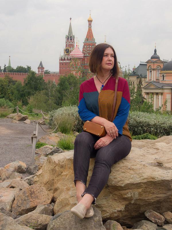 День семьи, любви иверности сНатальей иВладимиром! Рубашка иблузка «Клечатый дуэт» от Natalia F