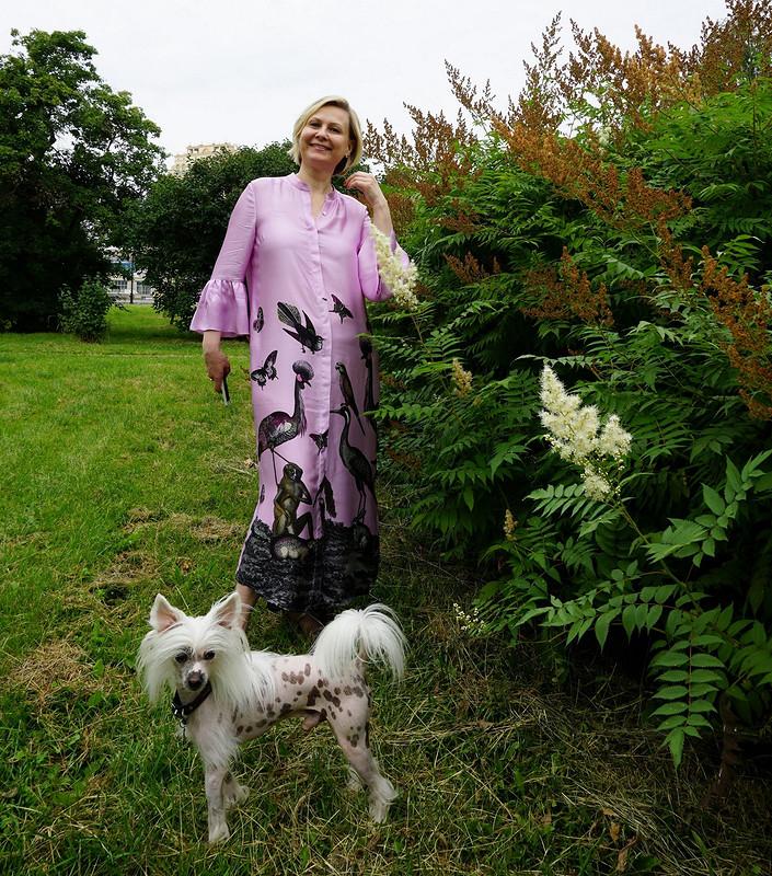 День Семьи сОксаной. Платье-рубашка «Фауна»