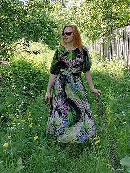 Работа с названием Платье для уральского лета