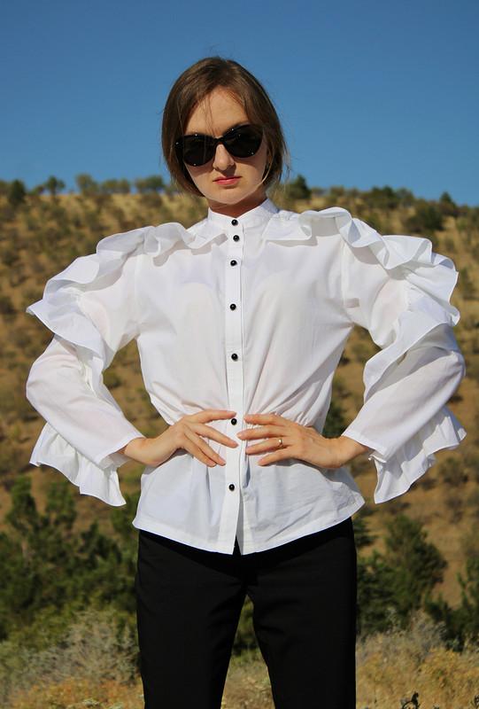 Блуза «Привет Valentino» от chulpanim
