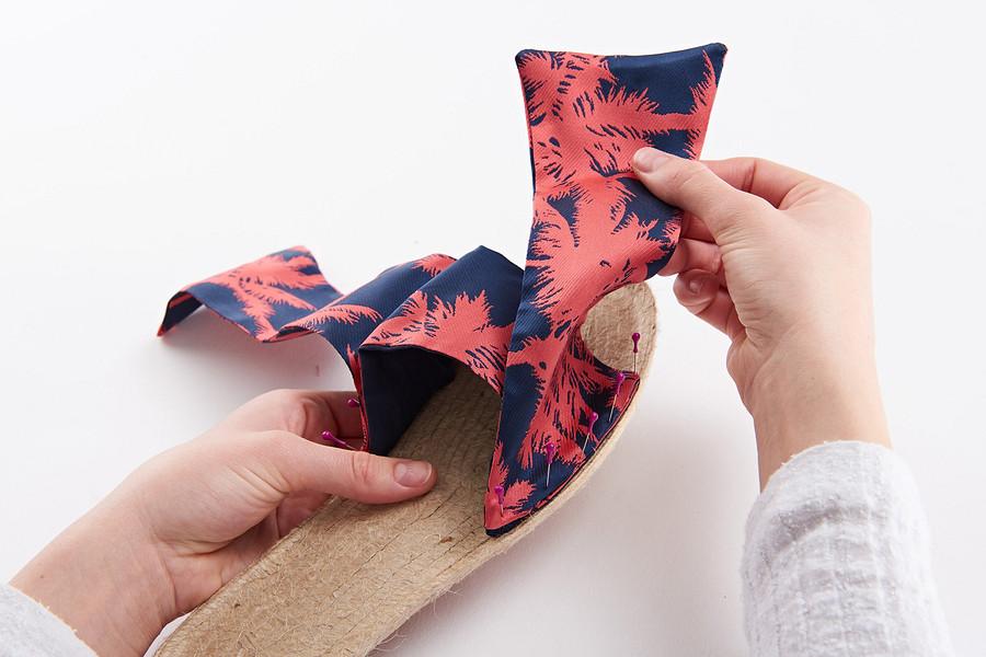 Обувь своими руками: шьём шлепки втропическом стиле