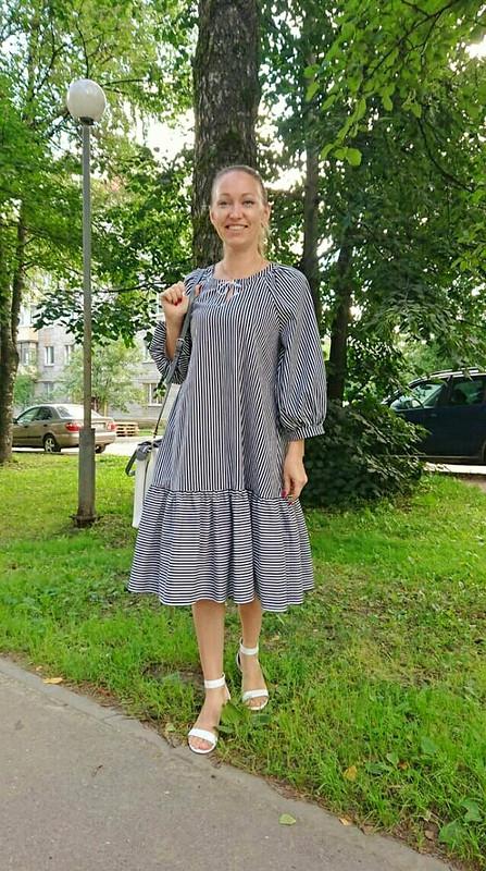 Платье изхлопка от Katherina_Belyaeva