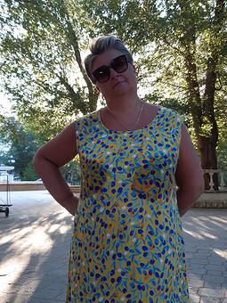 Работа с названием Курортная серия: пляжное платье