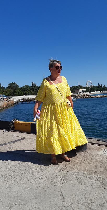 Платье «Желтый парашют»