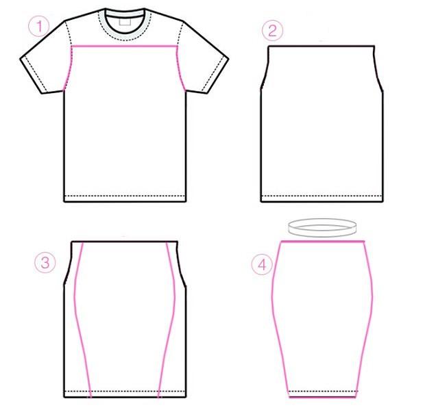 Как переделать футболку: 10 идей синструкциями