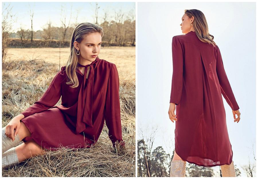 Выкройка месяца: платье-хамелеон врубашечном стиле