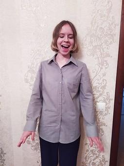 Работа с названием Блуза-рубашка