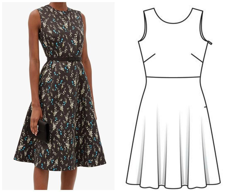 5 брендовых платьев дороже 100 000 рублей, которые вы можете сшить сами