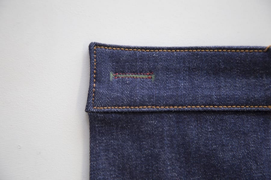 Обработка петли напоясе джинсов: советы илайфхаки