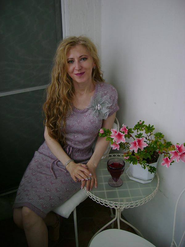 Вязаное платье изVOGUE «Современный винтаж» от Muslin