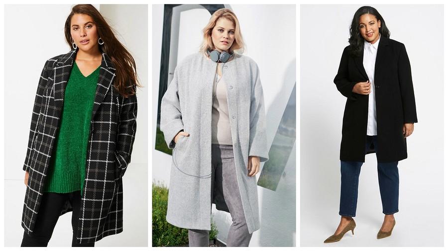 Стильные пальто дляполных женщин: как выбрать ина что обратить внимание