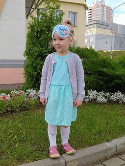 Работа с названием Платье для дочи