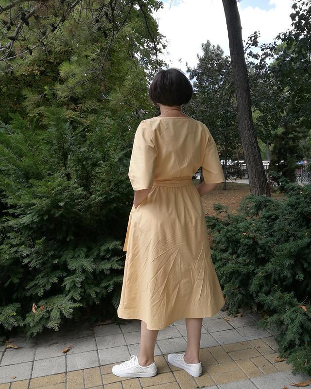 Платье прогулочное