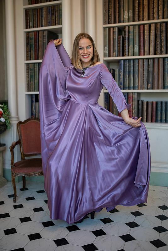 Платье сдлинной юбкой от Sh'empotixon'ku