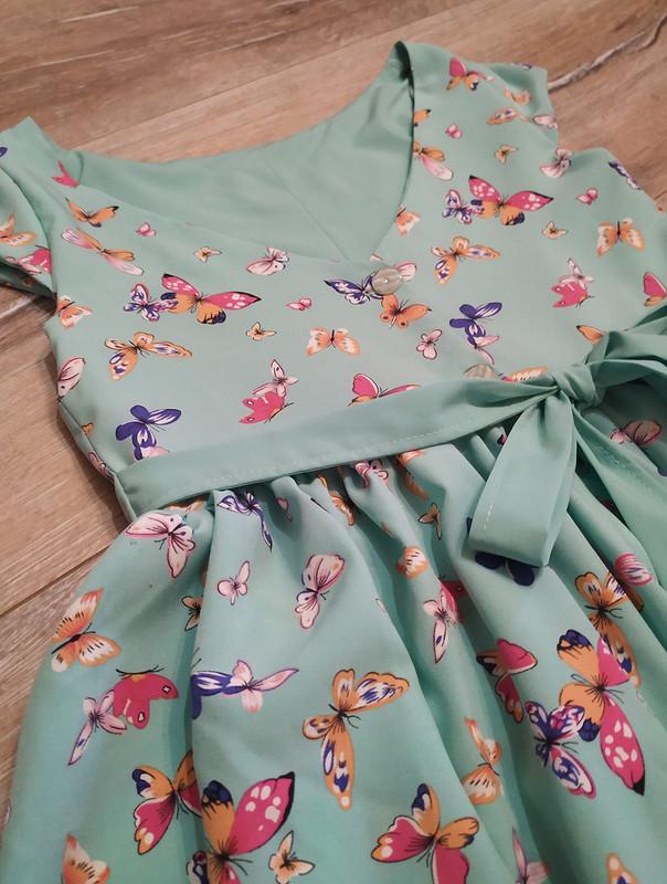 Платье сбабочками от Svetlyk
