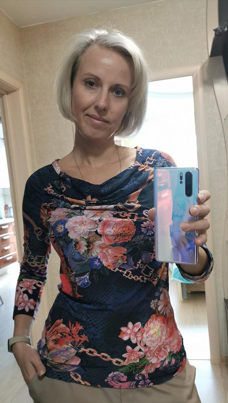 Пуловер «Цветы ицепи» от LenokA