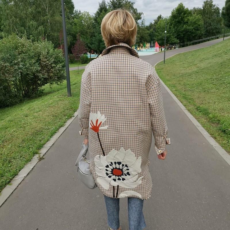 Пальто-рубашка «VALENTINOв день» от Джульетта Викторовна